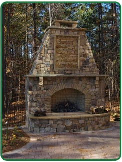 Outdoor Fireplaces in Brecksville & Peninsula, OH